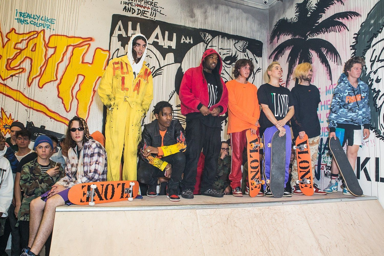 White Trash Tyler, A$AP Bari, A$AP Rocky, Nick Blanco