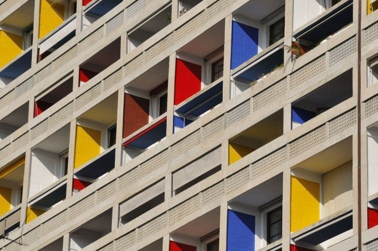 Brutalismo | Le Corbusier - La Cité Radieuse