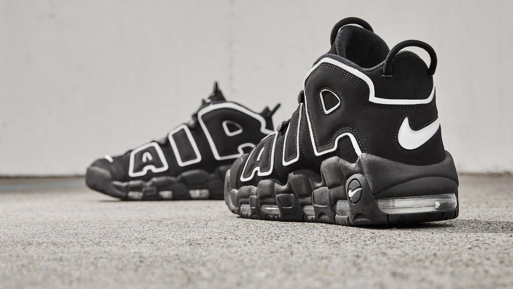 Nike Air More Uptempo - Black / White