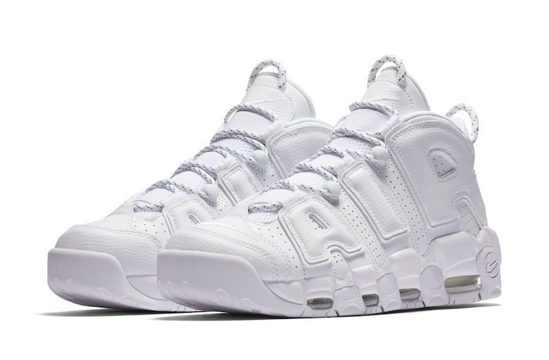 Nike Air More Uptempo - Triple White