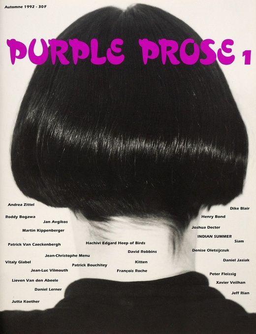 Purple Prose (Purple Magazine) - Issue 1