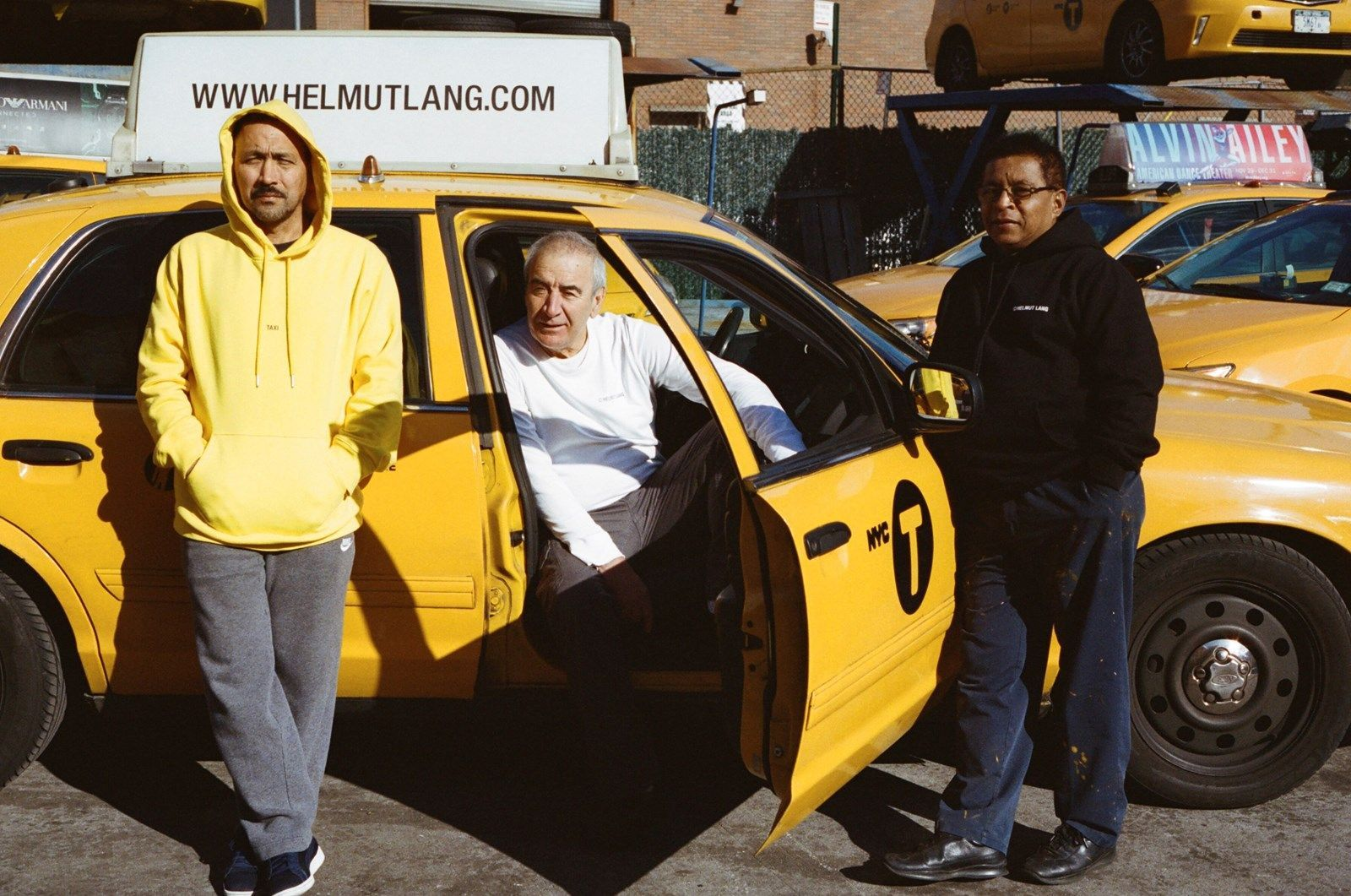 """Hellmut Lang """"Taxi"""""""