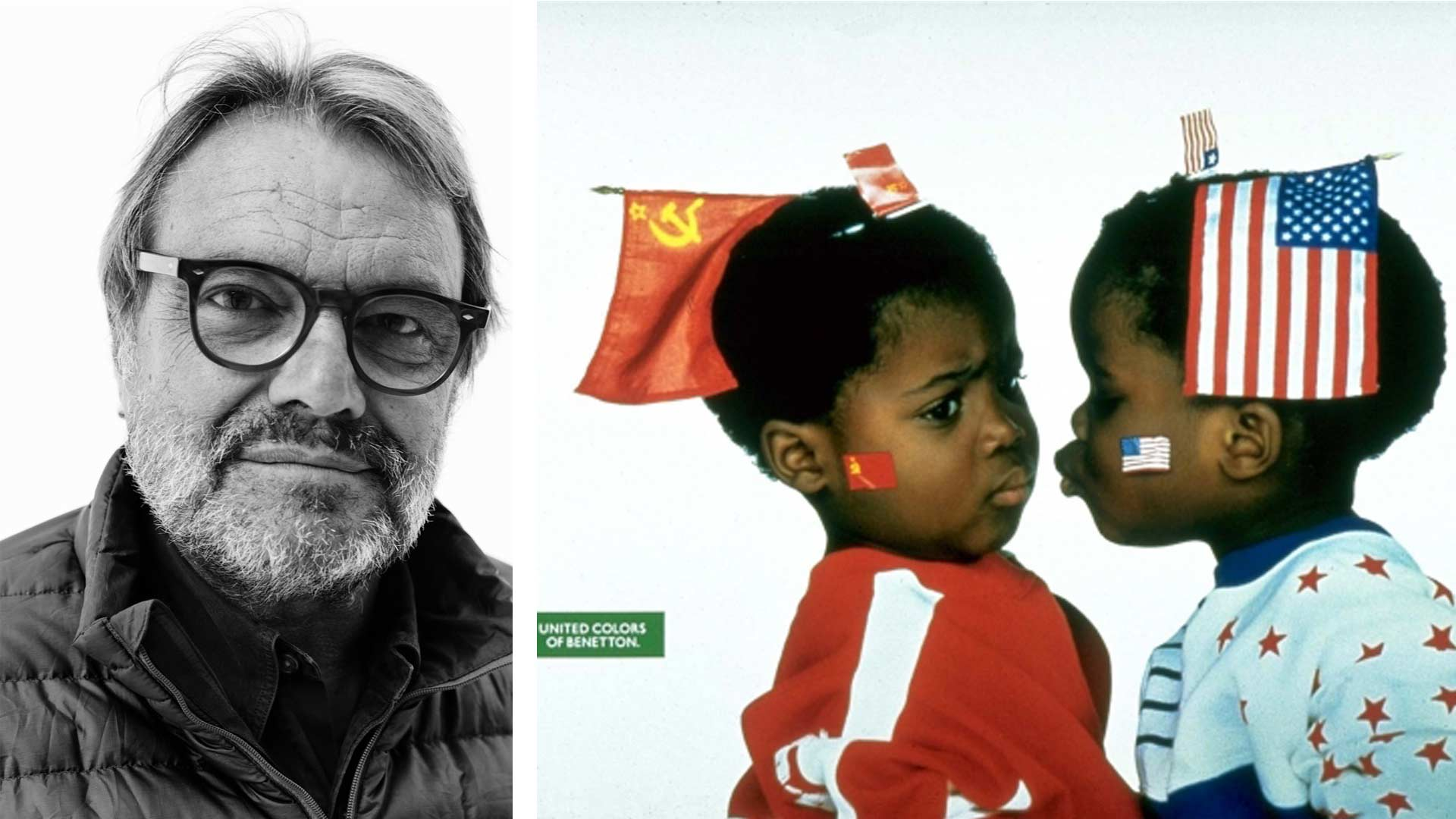 Oliviero toscani benetton recovers the 90 39 s controversy for Benetton sida