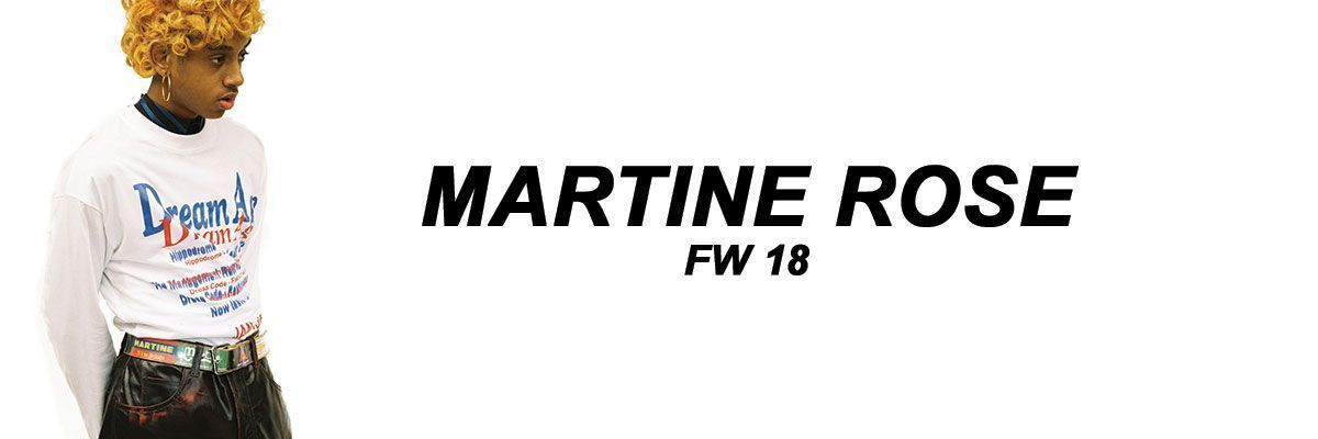 Martine Rose FW17