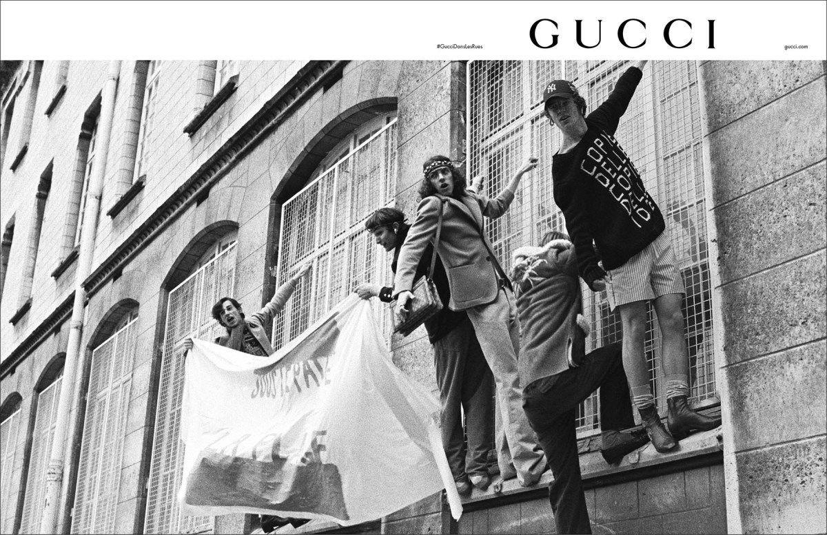 Gucci Dans Les Rues | Pre-Fall 2018