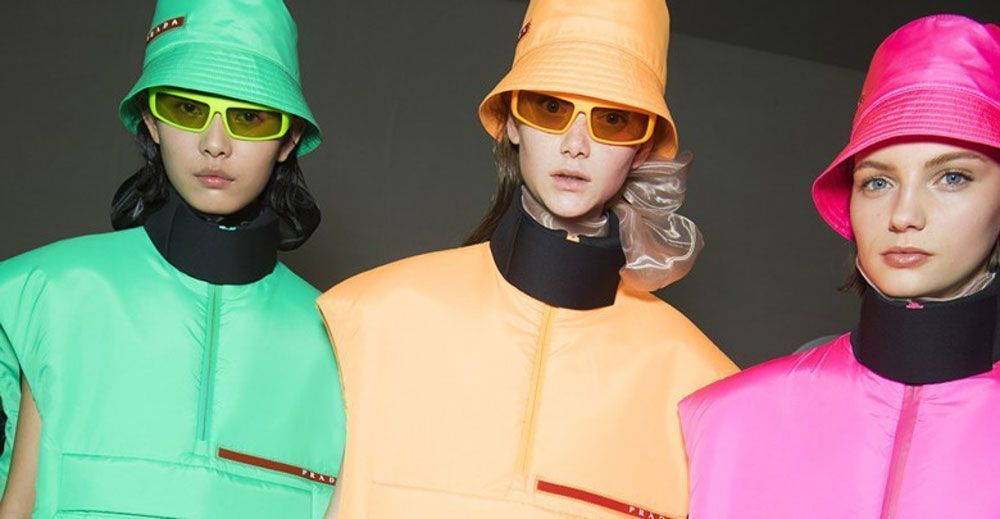 Prada connects with futurism in Milan  842a27a2644