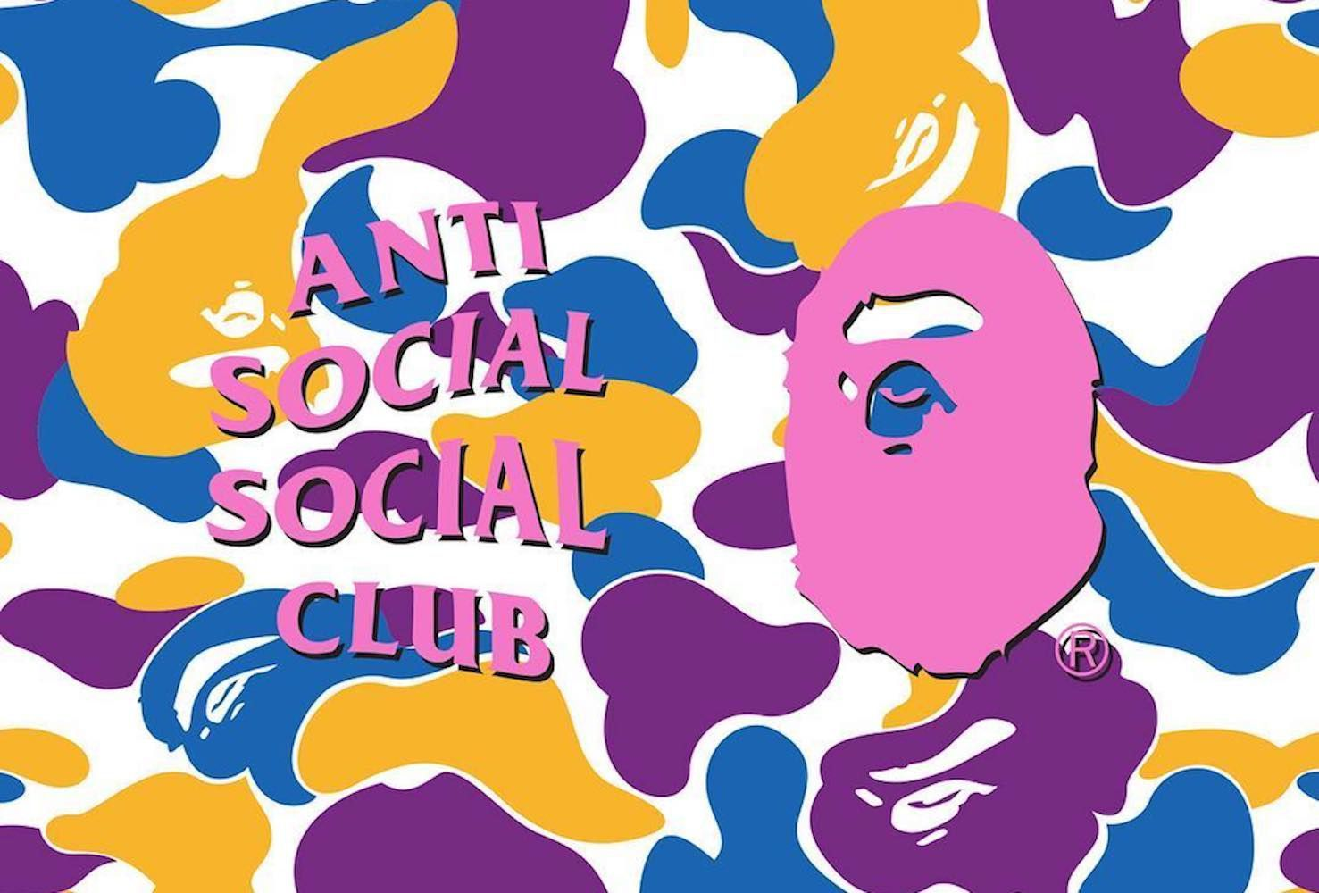Anti Social x Bape