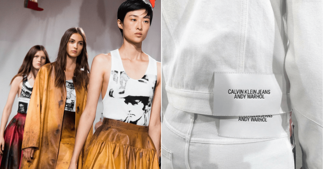Calvin Klein x Andy Warhol Foundation