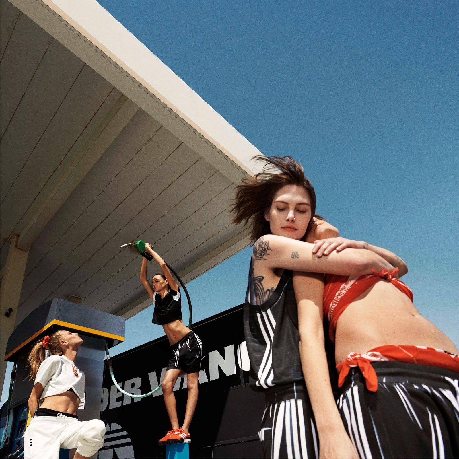 Alexander Wang x Adidas Originals.
