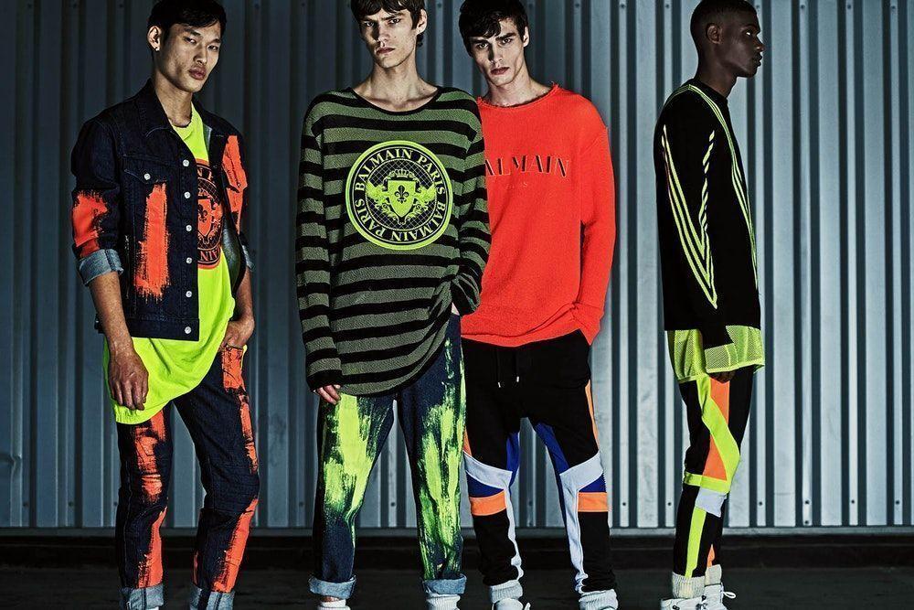 Balmain Menswear | Resort 2019