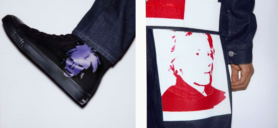 Calvin Klein x Andy Warhol Self-Portrait Capsule