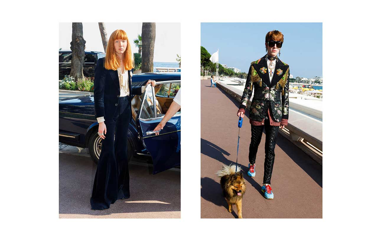 Gucci Cruise 2019 by Martin Parr