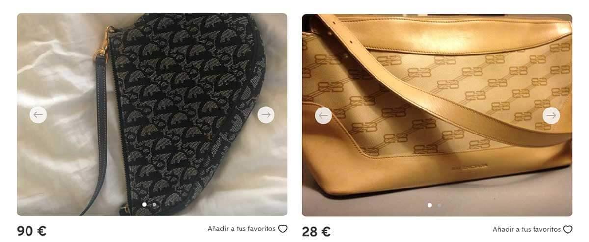 Dior & Balenciaga   Wallapop