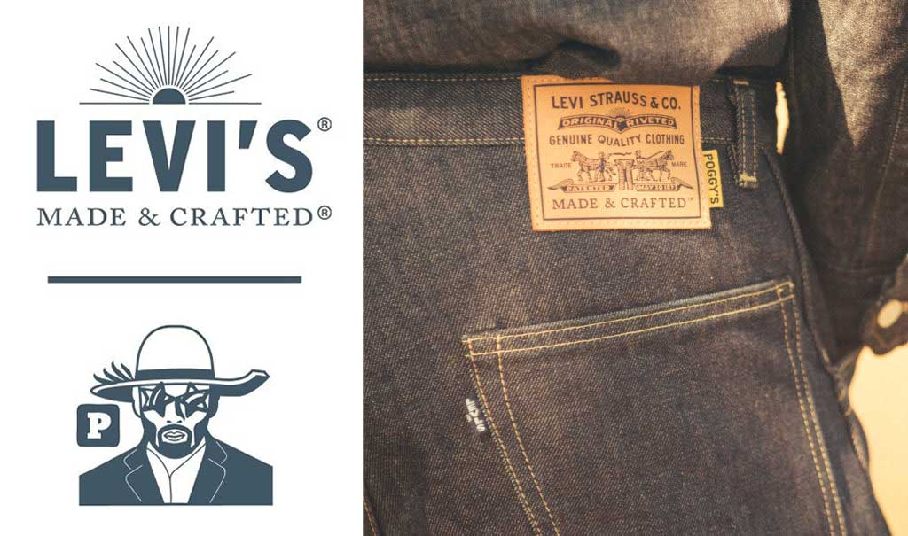 Levi's Made & Crafted x Poggy The Man   FW2018