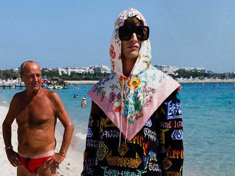Gucci Men | Crucero 2019 Loobook by Martin Parr