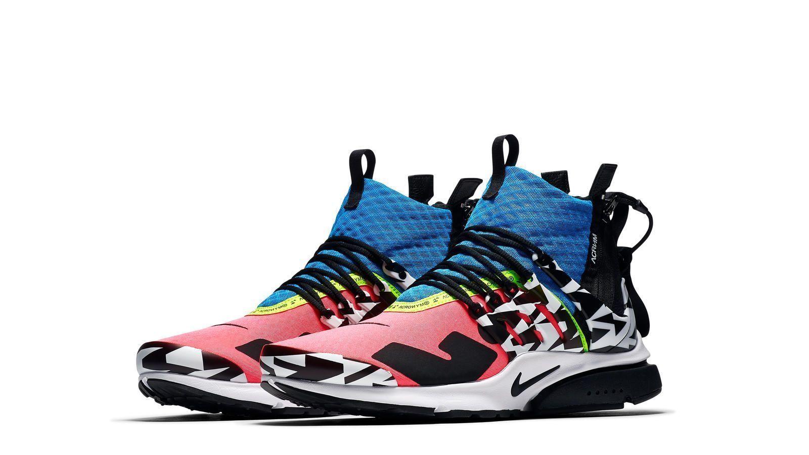 ACRONYM x Nike Presto Mid 2018