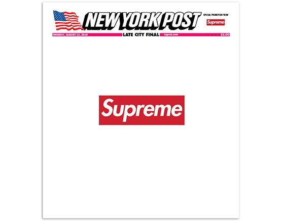 New York Post x Supreme