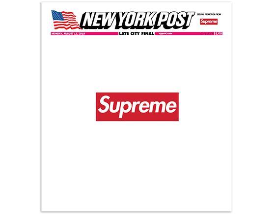New York Post x Supreme