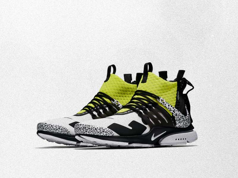 Nike Air Presto Mid x ACRONYM | Inspiración tecnológica