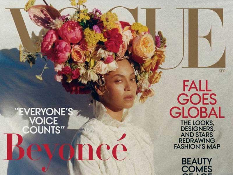Beyoncé protagoniza la portada de septiembre de Vogue y hace historia
