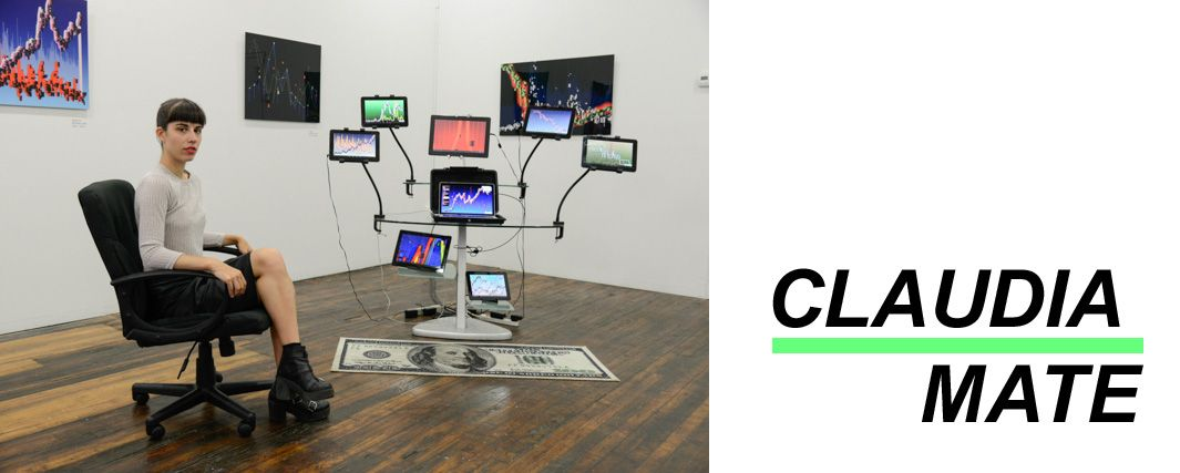 Claudia Mates at Transfer Gallery © Christian Grattan
