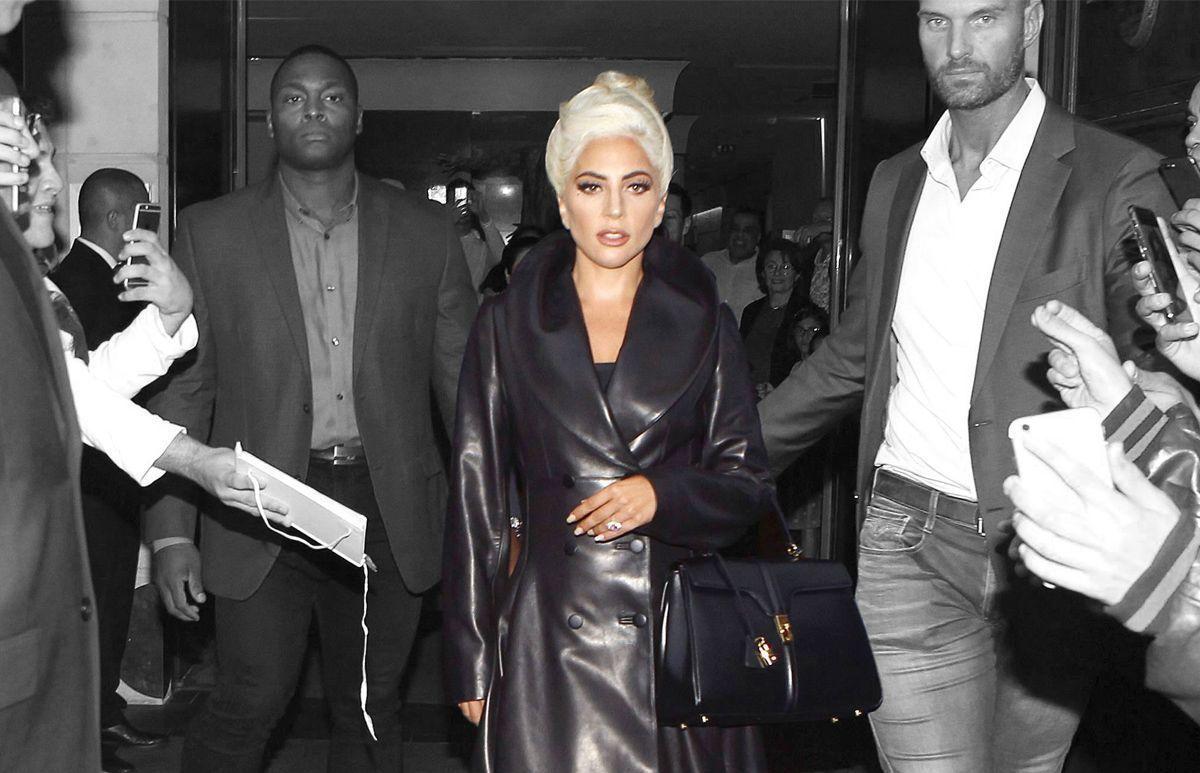 Lady Gaga x Celine Bag by Slimane