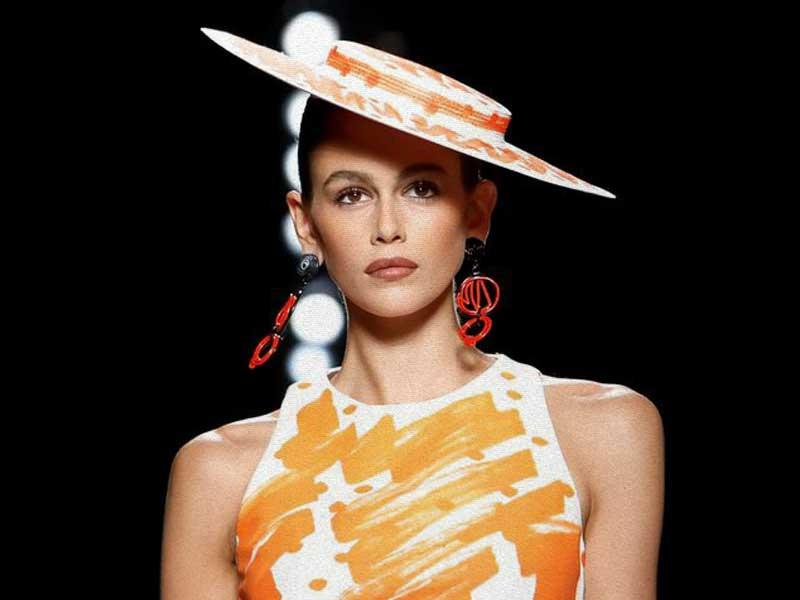 Moschino SS19 | Bocetos del fast-fashion y alta costura de los 80