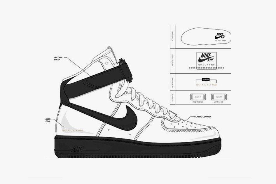 1017 ALYX 9SM x Nike SF-AF1