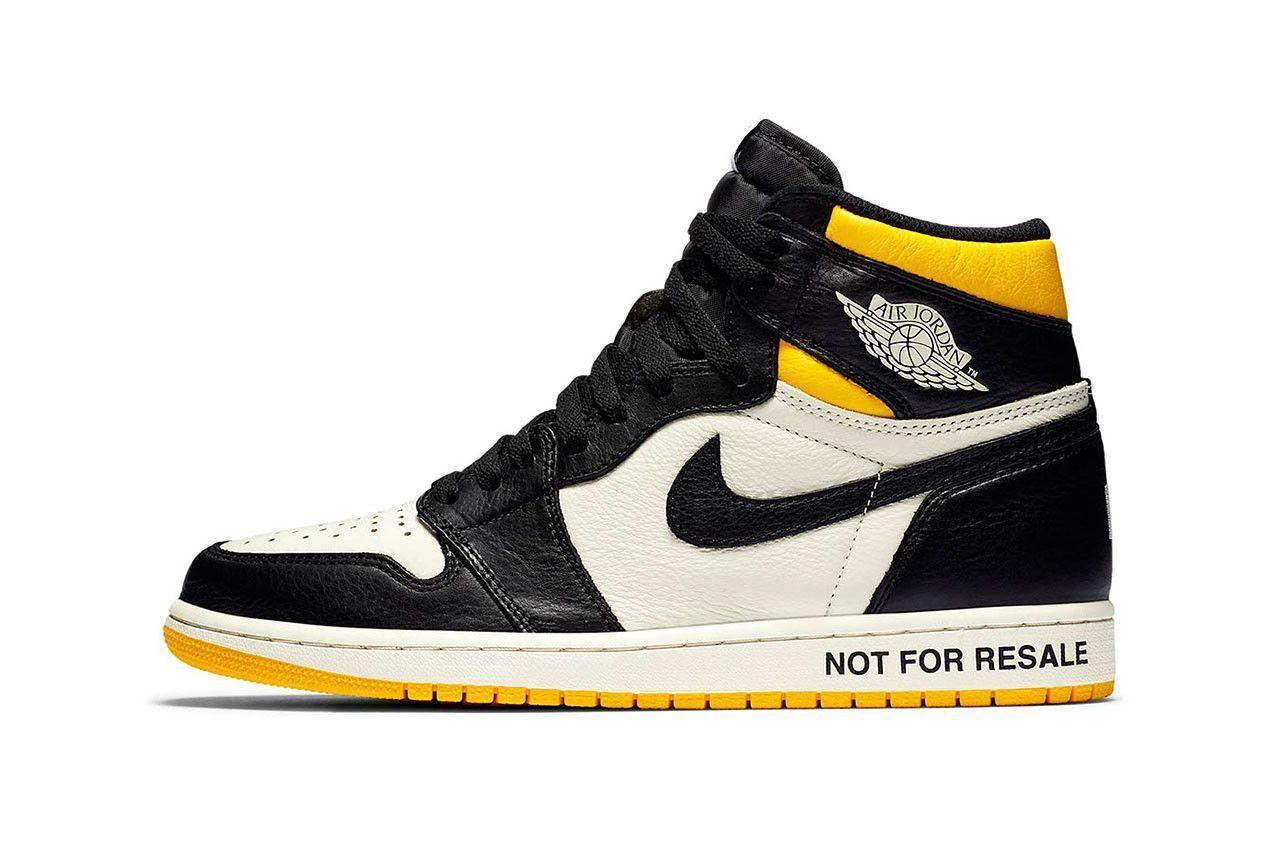 """Air Jordan 1 - """"NOT FOR RESALE"""""""