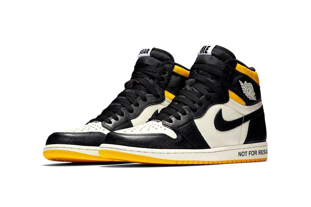 Air Jordan 1 faces the resale \