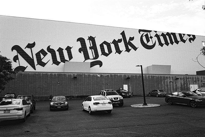 Études x NY Times