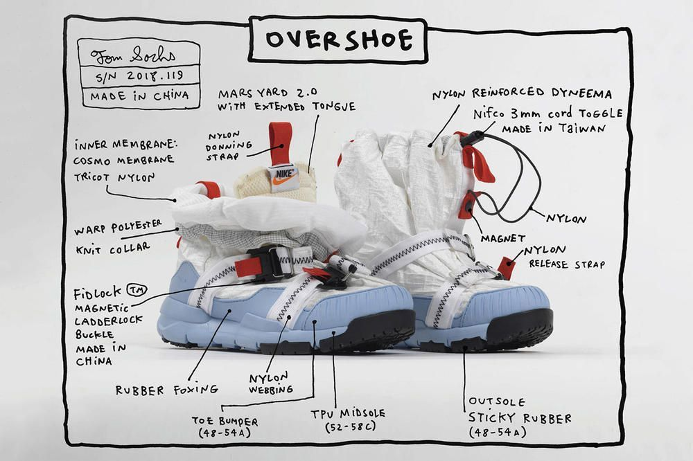 Tom Sachs - Nike Mars Yard Overshoe
