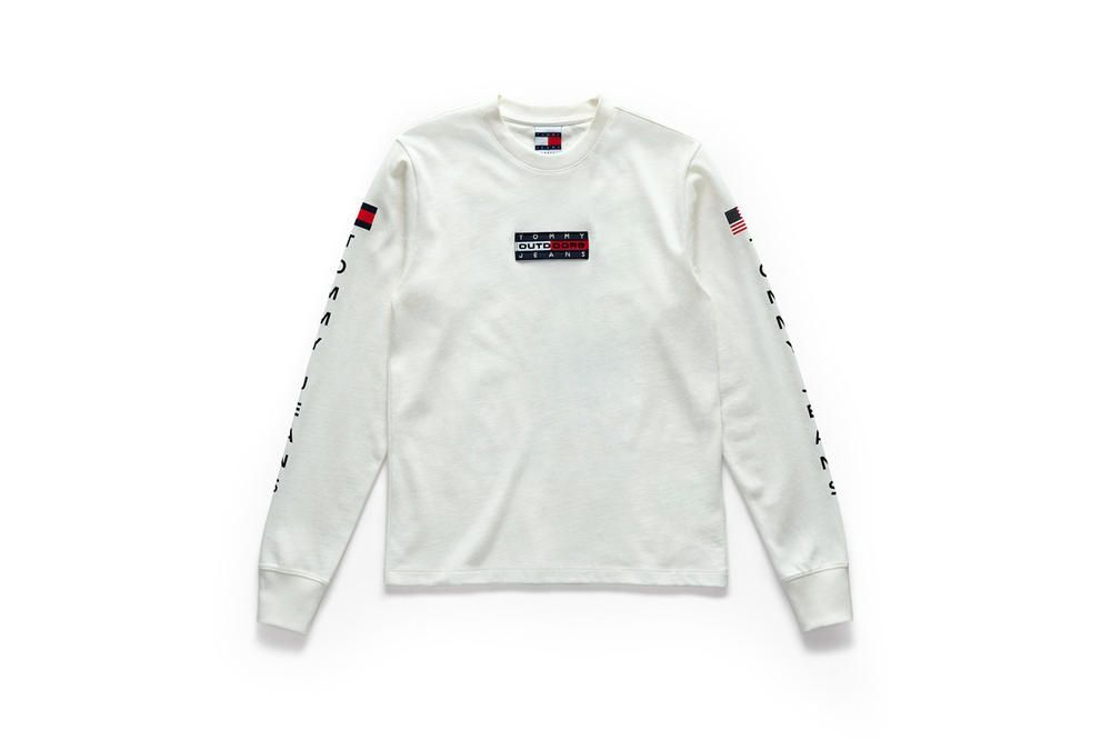 """34e557f6 Under the title """"Outdoors"""" the collection is now available in Tommy stores  and selected retailers."""