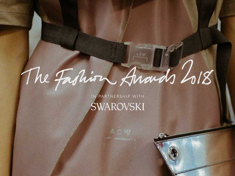 Conocemos los nominados de los Fashion Awards 2018
