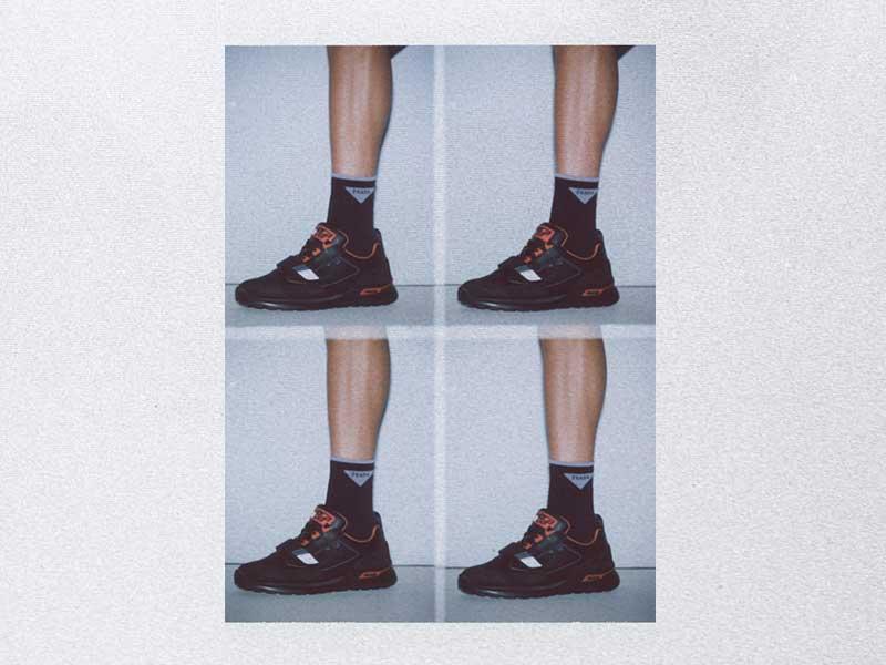 Mechano es la nueva sneaker de Prada