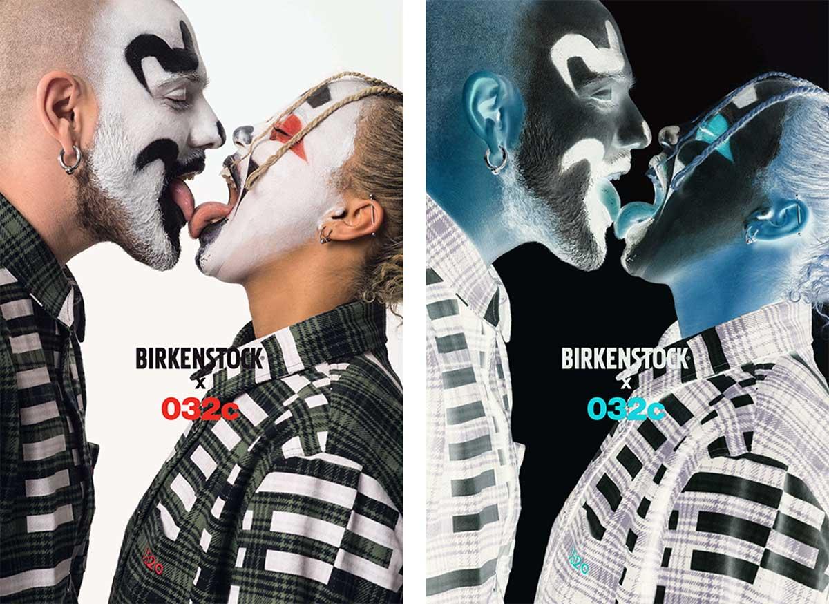 Birkenstock x 032c