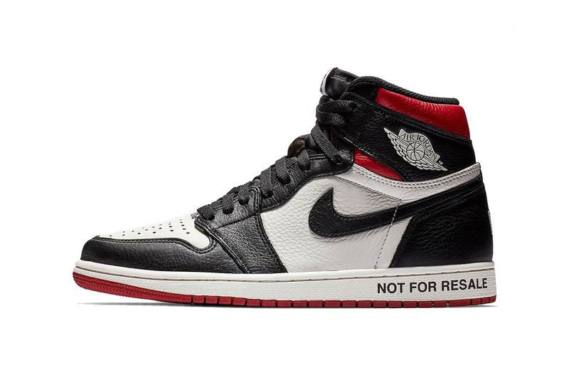 "Nike AJ1 ""Not For Resale"" - Red"
