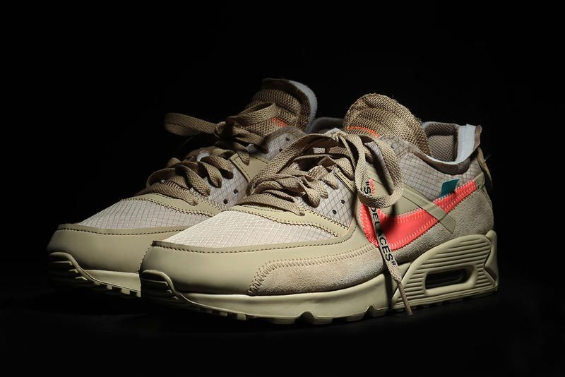 "Off-White x Nike Air Max 90 ""Desert Ore"""