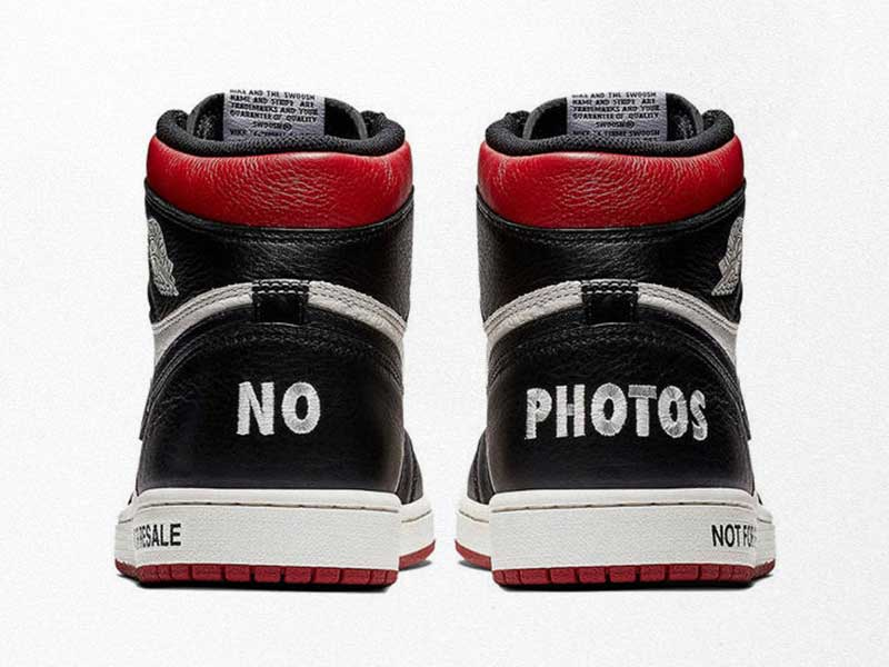 "Nike continues its irony about the ""Resale"""