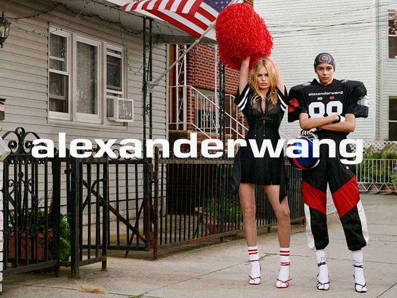Alexander Wang presenta su campaña Colección 1