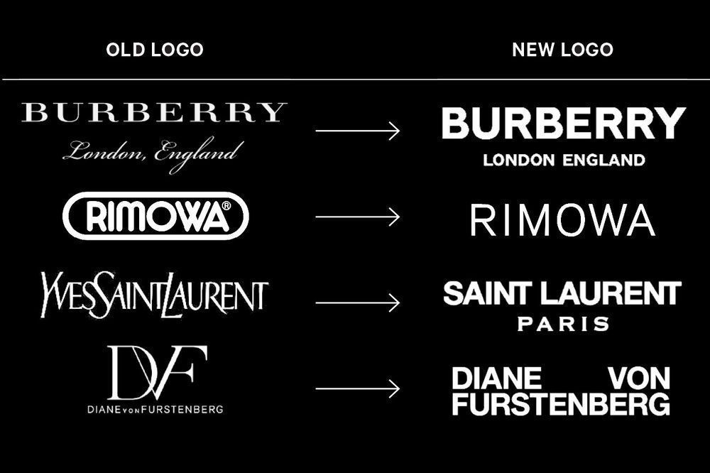 Luxury brands new logos: Mistake or success? | HIGHXTAR.