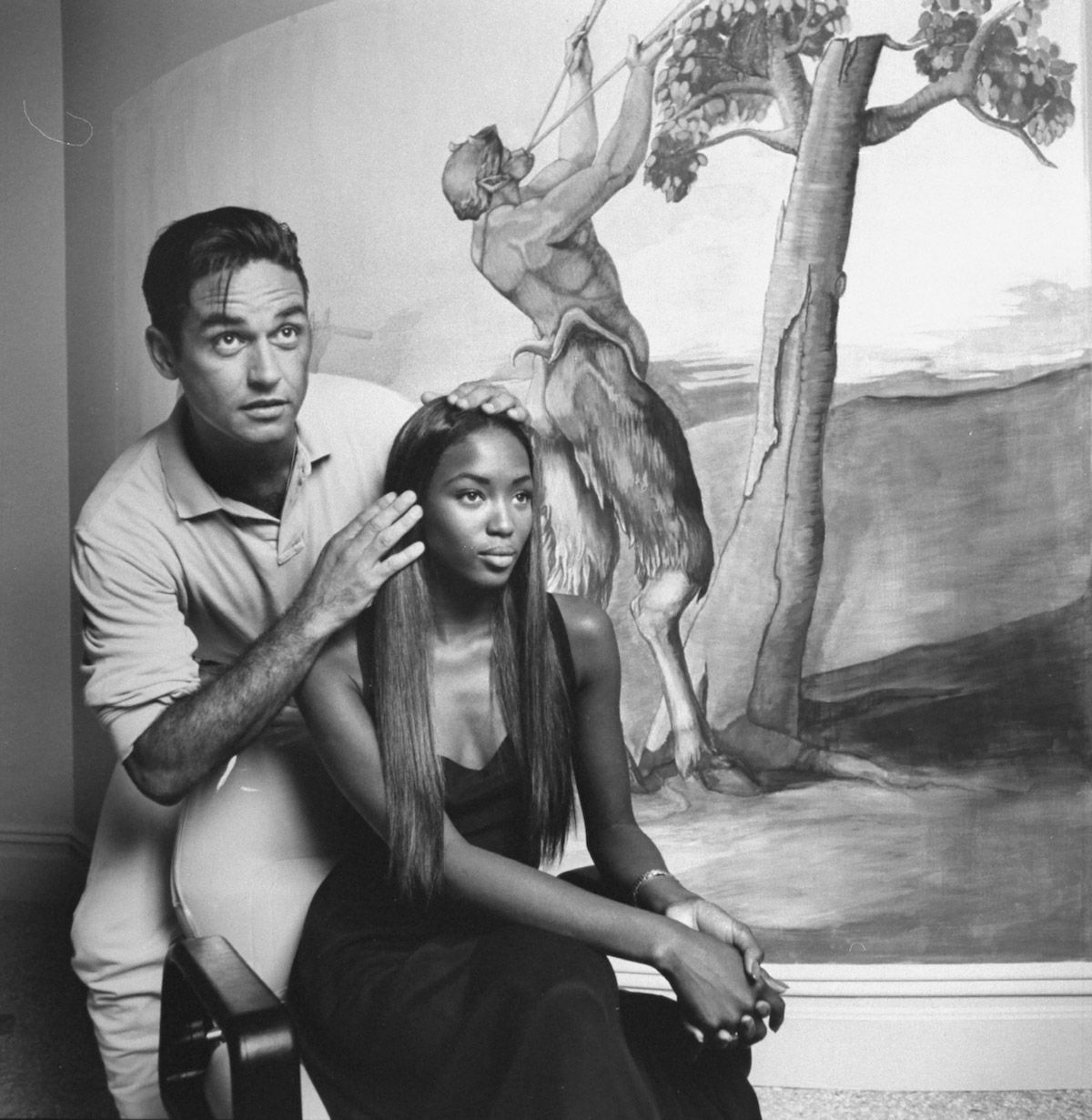 Oribe Canales x Naomi Campbell