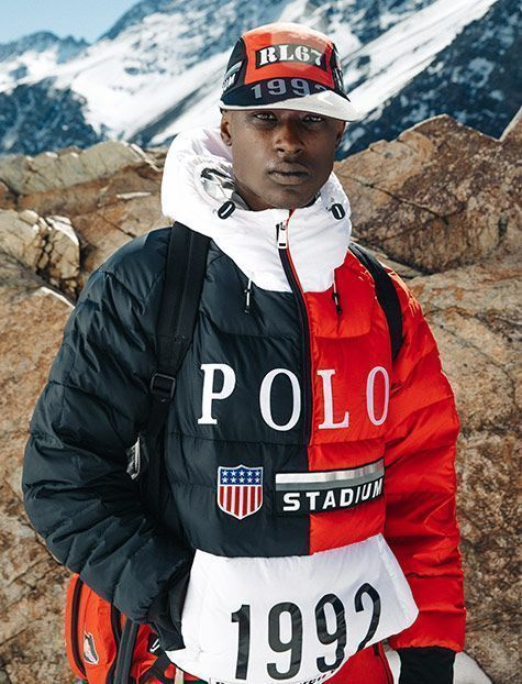 f33104f7a Rich in Polo Ralph Lauren codes, which originally defined an entire decade,  the Winter Stadium collection brings back the classic red-white-blue which  in ...