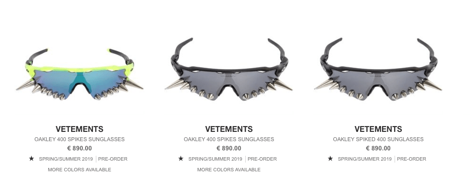 """e9be6efce1 ... lenses with spikes on the bottom edge. The lenses are made of 100%  fiber with the Oakley """"O"""" logo on the siens and lenses. From now on you can  make ..."""