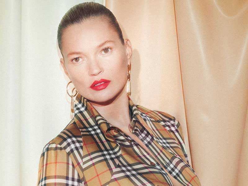 Kate Moss heads Vivienne Westwood & Burberry's new campaign