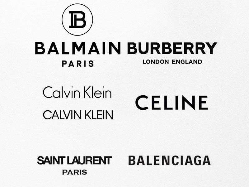 Luxury brands new logos: Mistake or success?