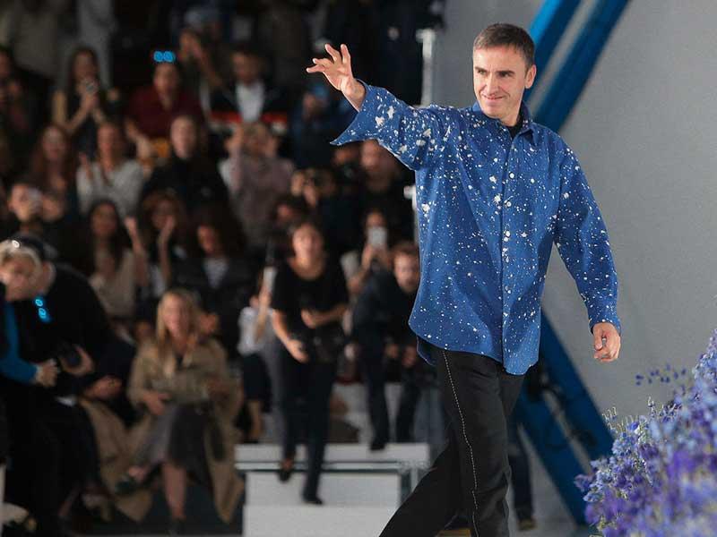 Los días de Raf Simons en Calvin Klein podrían estar llegando a su fin