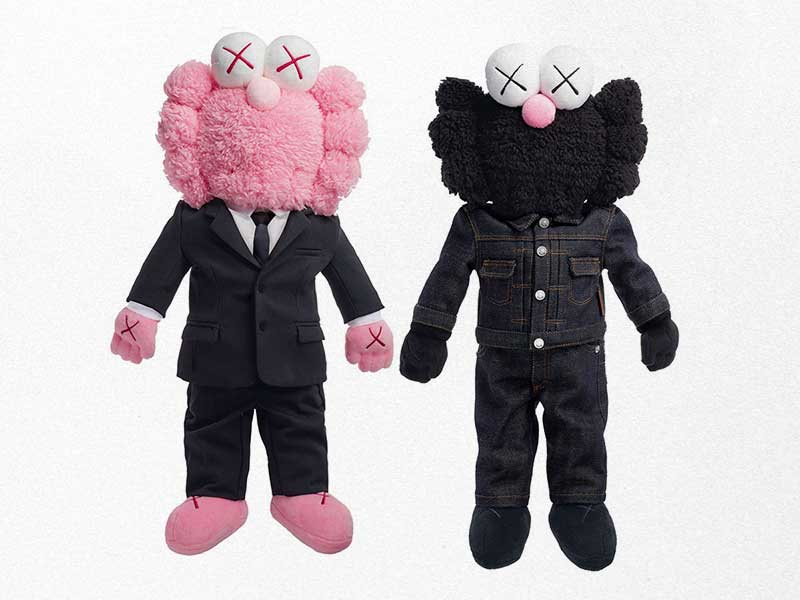 El codiciado muñeco BFF de Dior x KAWS ya está disponible en tiendas