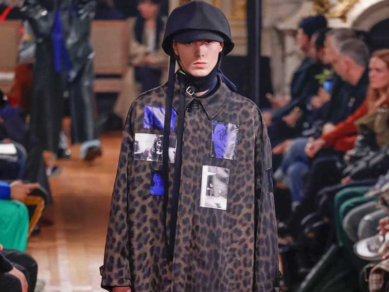 Raf Simons AW19 y un homenaje a David Lynch