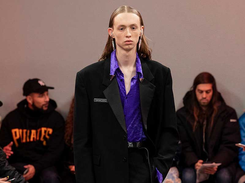 SANKUANZ FW19 >>> The new haute couture is urban fashion